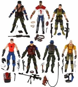 GI Joe Exclusive Action Figure 7-Pack Slaughter's Marauders Battle