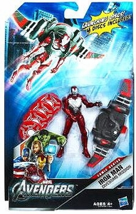 Marvel Avengers Comic Deluxe 4 Inch Action Figure Mission Pack Divebomb Mission Iron Man
