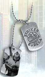 NECA Pacific Rim Dog Tags Striker Eureka