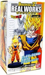 Dragonball Z Bandai 4.5 Inch PVC Real Works Collection 3 Super Saiyan Goku