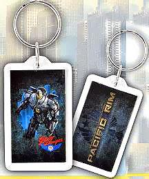 NECA Pacific Rim Lucite Keychain Gipsy Danger