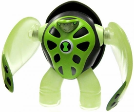 Ben 10 LOOSE 4 Inch Action Figure Terraspin [Power-Up Version]