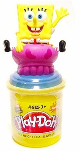 Play-Doh Nickelodeon Can Topper Spongebob BLOWOUT SALE!