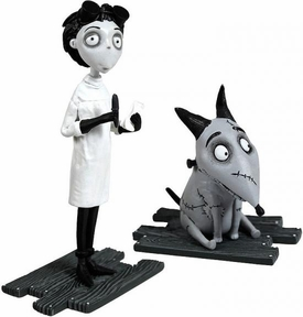 Frankenweenie Movie Mini Figure 2-Pack After Life Sparky & Lab Coat Victor
