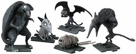 Frankenweenie Movie Mini Figure Collector 5-Pack Turtle Monster, After Life Sparky, Vampire Cat, Hamster Mummy & Wererat