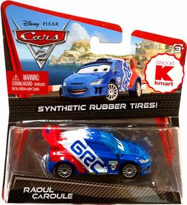 Disney / Pixar CARS 2 Movie Exclusive 1:55 Die Cast Car with Synthetic Rubber Tires Raoul CaRoule
