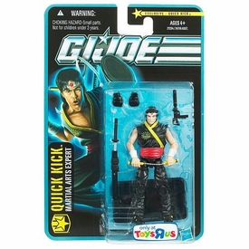 GI Joe Exclusive 3 3/4 Inch Action Figure Quick Kick [Martial Arts Expert]