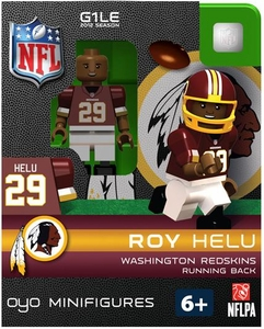 OYO Football NFL Building Brick Minifigure Roy Helu [Washington Redskins]