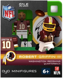 OYO Football NFL Building Brick Minifigure Robert Griffin III [Washington Redskins]