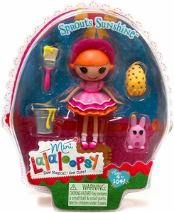 Lalaloopsy 3 Inch Mini Figure with Accessories Sprouts Sunshine