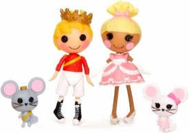 Lalaloopsy Mini Figure 2-Pack Prince Handsome & Cinder Slippers