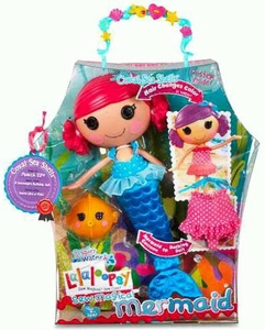 Lalaloopsy Sew Magical Mermaid Doll Figure Coral Sea Shells