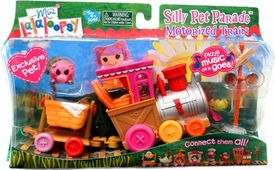 Lalaloopsy Mini Playset Silly Pet Parade Motorized Train Plays Music!