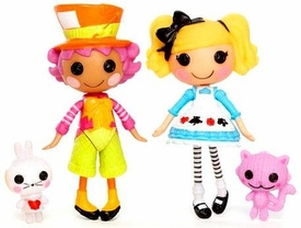 Lalaloopsy Mini Figure 2-Pack Wacky Hatter & Alice in Lalaloopsyland