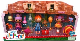 Lalaloopsy Mini Figure 3-Pack Sahara Mirage, Ace Fender Bender & Peanut Big Top