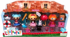 Lalaloopsy Mini Figure 3-Pack Marina Anchors, Misty Mysterious & Bea Spells-a-lot