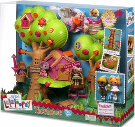 Lalaloopsy Playset Treehouse [Exclusive Spot Splatter Splash & Patch Treasurechest]