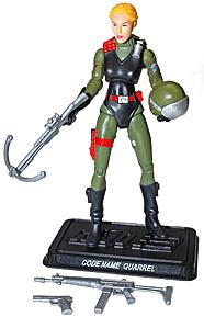 Hasbro GI Joe 2012 Subscription Exclusive Action Figure Quarrel