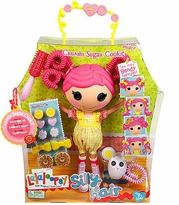 Lalaloopsy Silly Hair Doll Figure Crumbs Sugar Cookie