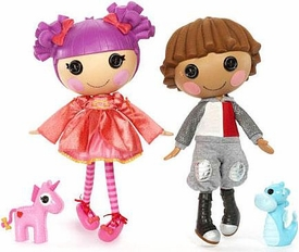Lalaloopsy Doll Figure 2-Pack Sir Battlescarred & Lady Stillwaiting