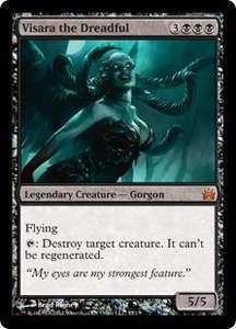 Magic: The Gathering From the Vault: Legends Single Card Black Mythic Rare #15 Visara the Dreadful