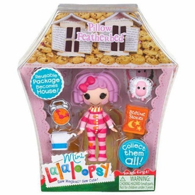 Lalaloopsy 3 Inch Mini Figure with Accessories Pillow Featherbed