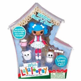 Lalaloopsy 3 Inch Mini Figure with Accessories Mittens Fluff 'n' Stuff