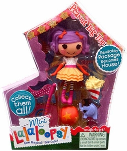 Lalaloopsy 3 Inch Mini Figure with Accessories Peanut Big Top