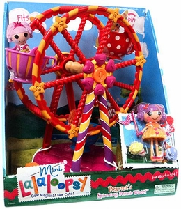 Lalaloopsy Mini Figure Playset Peanuts Spinning Ferris Wheel