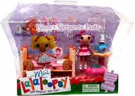 Lalaloopsy Mini Figure Playset Pillow's Sleepover Party