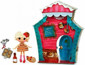 Lalaloopsy Mini Sweet Shop with Figure and Accessories Bun Bun Sticky Icing