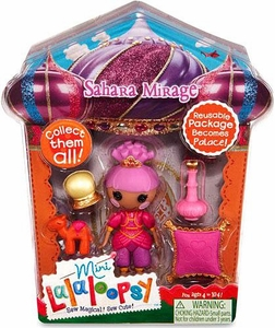 Lalaloopsy Mini Figure and Accessories Shara Mirage