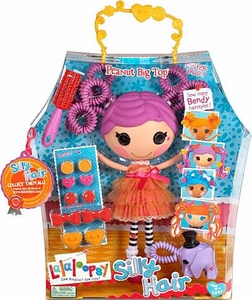 Lalaloopsy Silly Hair Doll Peanut Big Top