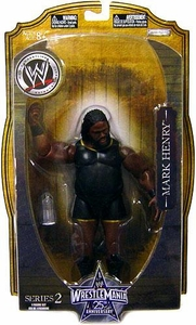 WWE Wrestlemania 25 Series 2 Action Figure Mark Henry