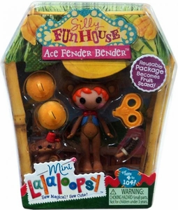 Lalaloopsy Silly Funhouse 3 Inch Mini Figure with Accessories Ace Fender Bender