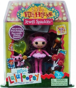 Lalaloopsy Silly Funhouse 3 Inch Mini Figure with Accessories Jewel Sparkles