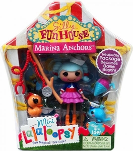 Lalaloopsy Silly Funhouse 3 Inch Mini Figure with Accessories Marina Anchors