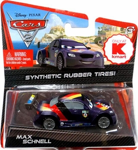 Disney / Pixar CARS 2 Movie Exclusive 1:55 Die Cast Car with Synthetic Rubber Tires Max Schnell