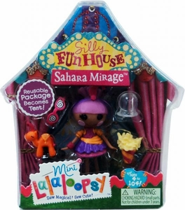 Lalaloopsy Silly Funhouse 3 Inch Mini Figure with Accessories Sahara Mirage