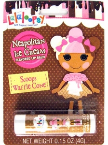 Lalaloopsy Flavored Lip Balm Neapolitan Ice Cream