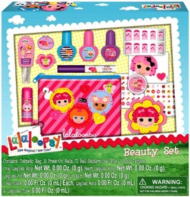 Lalaloopsy Beauty Set [Cosmetic Bag with Lip Balms & Body Tattoos]