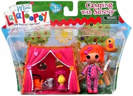 Lalaloopsy Mini Playset Camping with Sunny