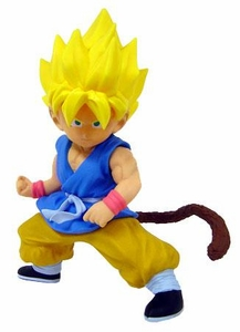 Dragon Ball GT BanPresto Deluxe Vinyl Statue 9 Inch Figure Super Saiyan Little Goku