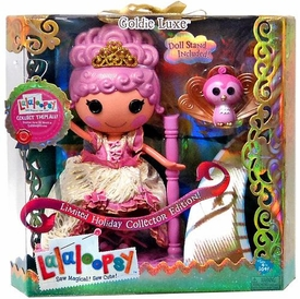 Lalaloopsy Holiday Collector Edition Doll Goldie Luxe