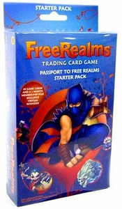 Topps Free Realms Trading Card Game Starter Pack
