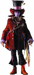 Alice In Wonderland Medicom Real Action Heroes Deluxe 12 Inch Collectible Figure Mad Hatter [Johnny Depp]