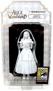 Disney's Alice In Wonderland 2010 SDCC San Diego Comic Con Exclusive Ultra Detailed Figure Alice [White Version]