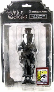 Disney's Alice In Wonderland 2010 SDCC San Diego Comic Con Exclusive Ultra Detail Figure Mad Hatter [Black Version]