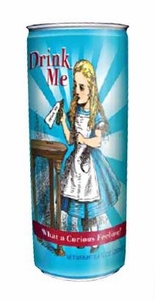 Energy Drink Alice in Wonderland Drink Me