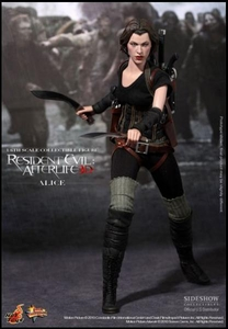 Sideshow Hot Toys Resident Evil Afterlife 3D Video Game Masterpiece 1/6 Scale Collectible Figure Alice